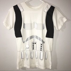 Boy's Disney store Storm trooper tee L 10/12